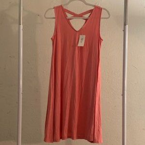 Style & Co. Rose Blossom Pink Dress SP NWT